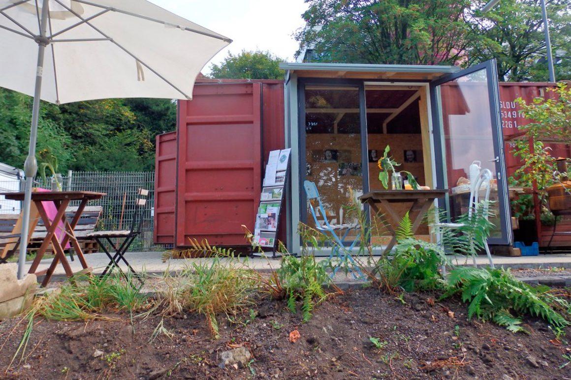 Ein BOB – Solarcontainer